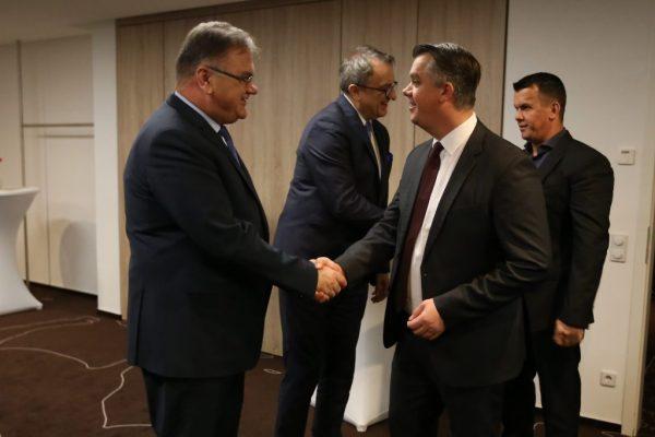 07122016 1 1024x682 600x400 - Empfang für den Vorsitzenden des Staatspräsidiums BuH dr. Mladen Ivanić