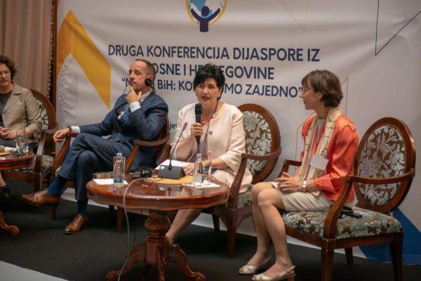 48125705281 4b00d12112 o 1024x683 600x400 - Druga konferencija dijaspore iz BiH pod nazivom 'Mladi i BiH: Koračajmo zajedno'