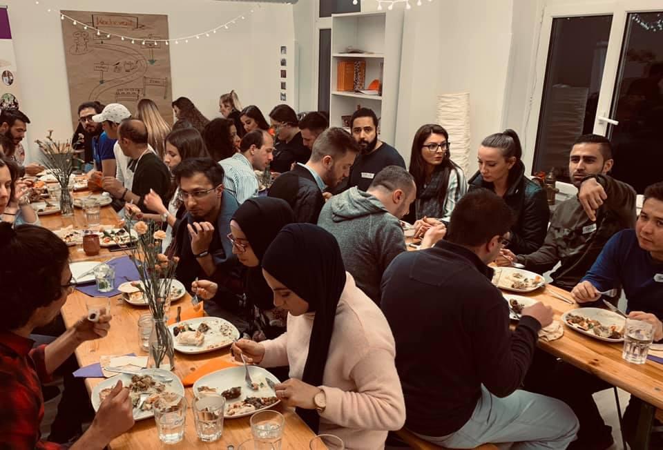 Impressionen – pangea | dinner – Von Bosnien bis Afghanistan – 11.05.2019 in Frankfurt am Main