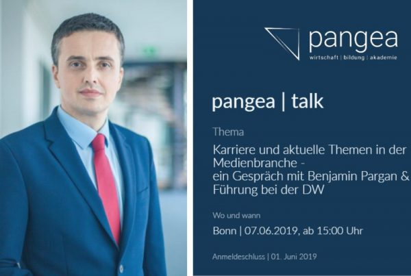 pangea talks pargan 1024x537 600x403 - pangea | talk - Thema: Karriere und aktuelle Themen in der Medienbranche - 07.06.2019 in Bonn