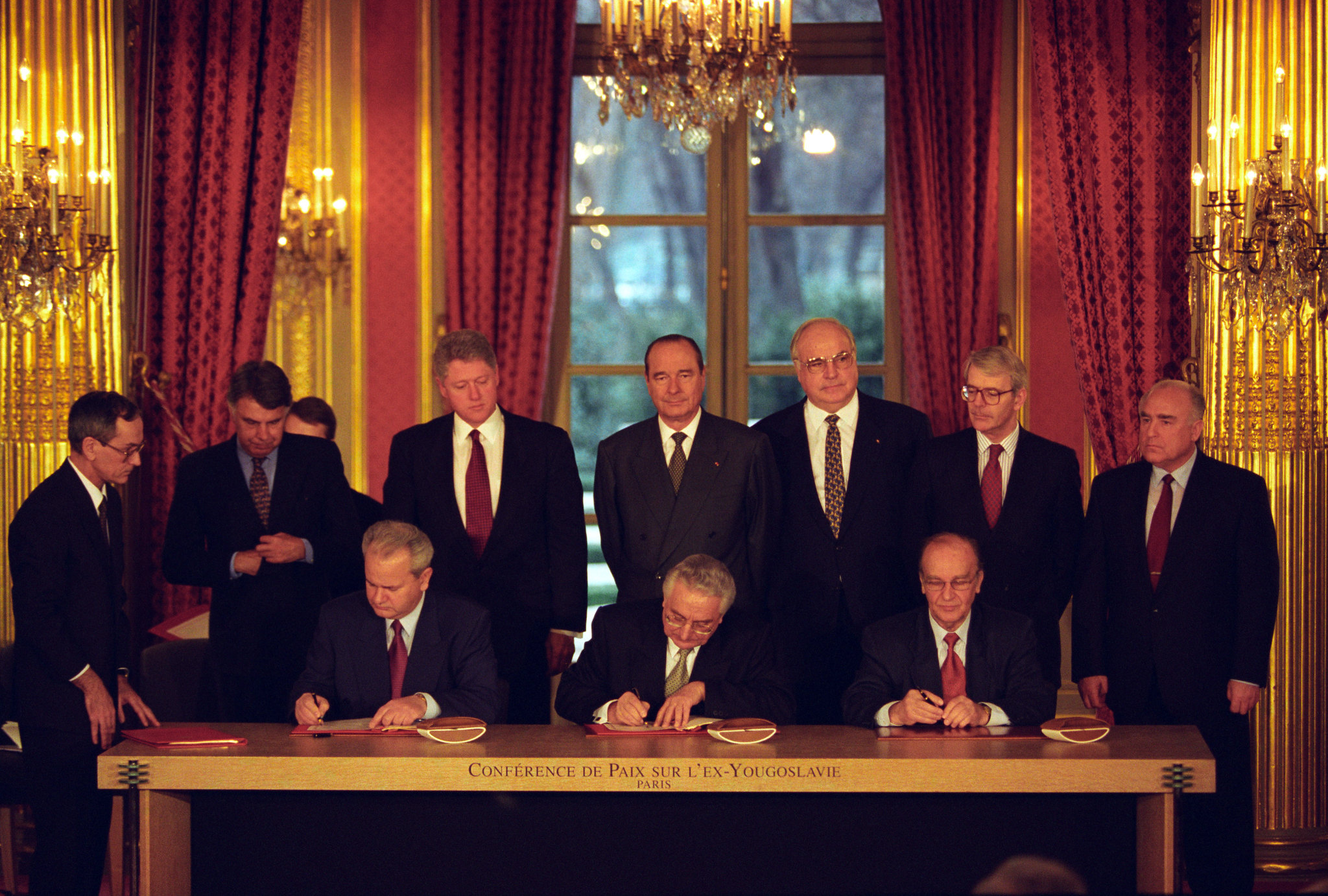 21. November 1995 – Abkommen von Dayton