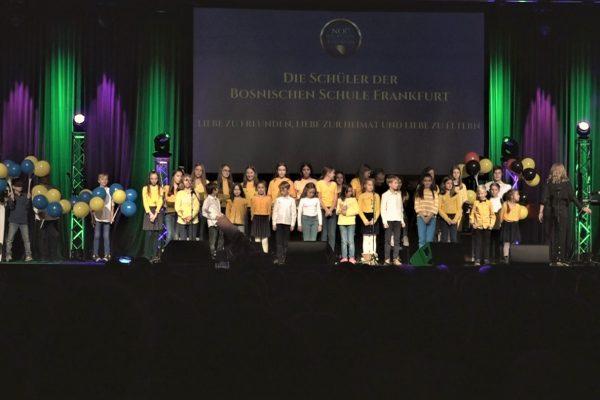 Djeca iz Bosanske Škole Frankfurt 600x400 - Impresije - Noć Bosne i Hercegovine, 26.10.2019 u Offenbachu