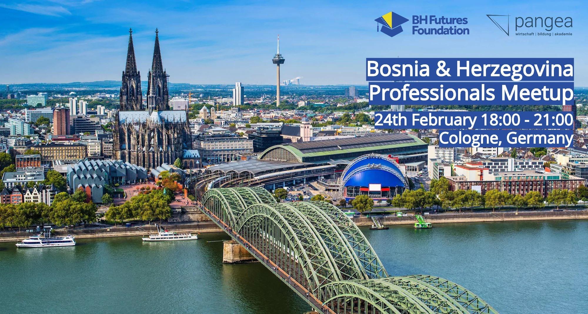pangea | @professionals meetup mit Bosnia & Herzegovina Futures Foundation, Köln