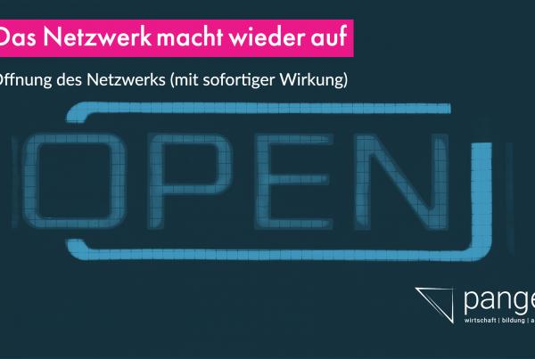 netztwerk öffnung 1 600x403 - Das Netzwerk macht wieder auf!