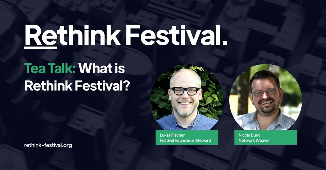 Rethink Festival from 20. – 21. November 2020