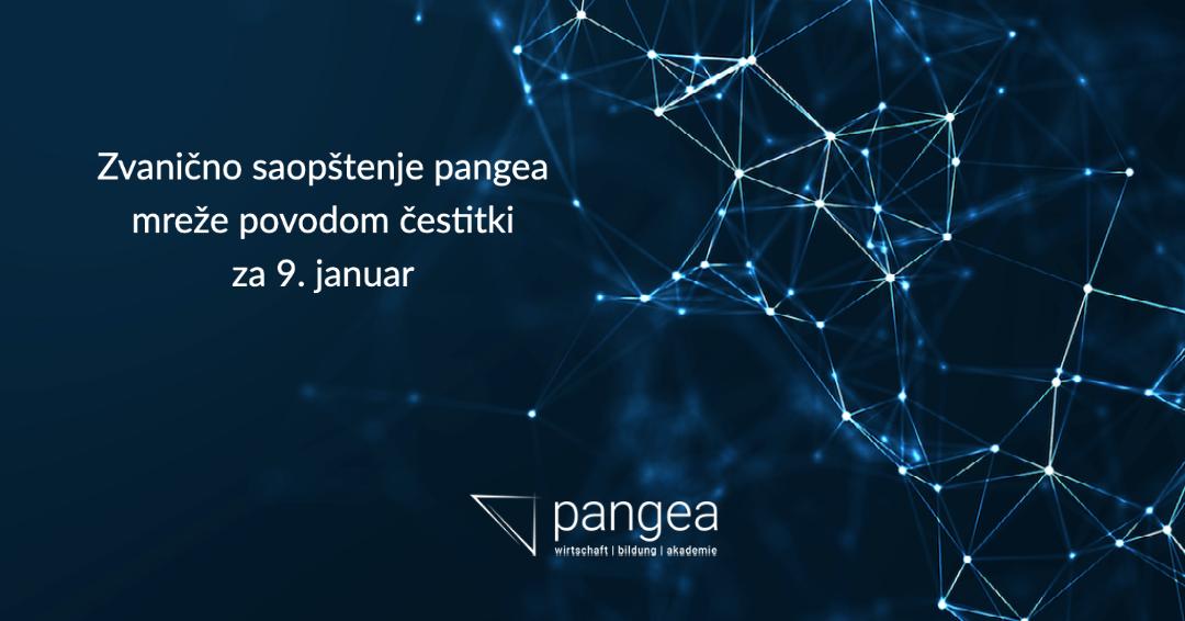Zvanično saopštenje pangea mreže povodom čestitki za 9. januar