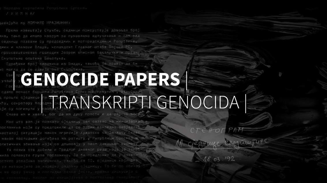 Transkripti genocida: Šta otkrivaju stenogrami ratnih sjednica NSRS?